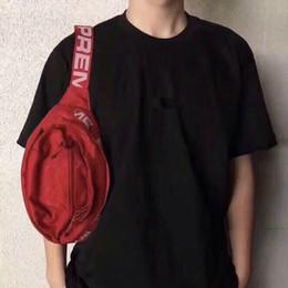 Messenger bag belt online shopping - Designer Waist Bag SS M th Sup Unisex Fanny Pack Fashion Waist Men Canvas Hip Hop Belt Bag Men Messenger Bags Shoulder Bag M