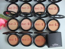 Fix Block Australia - Hot sale Foundation Brand Makeup Studio Fix Face Powder Cake Easy to Wear Face Powder Blot Pressed Powder Sun Block Foundation 15g NC NW