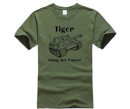 $enCountryForm.capitalKeyWord Australia - Men T Shirt 2018 Summer 100% Cotton Casual Short Sleeve Tops Tee Panzer Tiger Tank Wehrmacht Germany O-Neck T Shirt