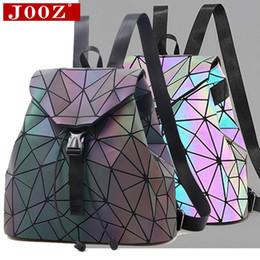 $enCountryForm.capitalKeyWord Canada - Luminous stitching Lattice Men Women Backpack for Travel girl School Bag for Student Luminous Backpack stitching Lattice Bag Men Women