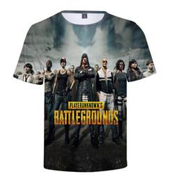 80fc2e904cd8 PLstar Cosmos Top FPS game PUBG T shirts 2018 New Fashion t shirts Winner  Chicken dinner 3d Print summer Casual Cool t shirt