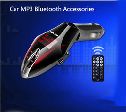 Car Mp3 Player Stereo Radio Bluetooth NZ - Car MP3 Player Audio Stereo Radio Wireless Modulator FM Transmitter Support USB Charger 3 Colors T658