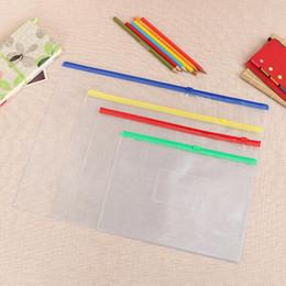 b876497b65f Waterproof files online shopping - Waterproof Zipper Bag Document Pen Filing  Products Pocket Folder Office School