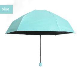 Vente en gros Cas de la mode cas parapluie ultra léger mini parapluie de poche pliant article portable par dhl article chaud