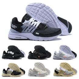 95243d54dec20b Nouveau blanc chaud presto commune chaussures de course triple noir hommes  designer coureur espadrilles femmes beige gris meilleur formateurs taille  US 5.5- ...