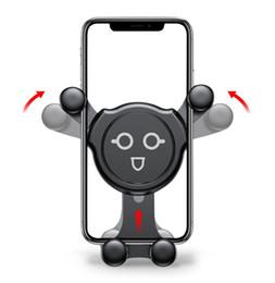 Универсальный гравитационный автомобильный держатель для iPhone X 8 7 Samsung S9 S8 держатель сотового телефона Air Vent Clip автомобильный держатель поддержка смартфонов (5-Модель)