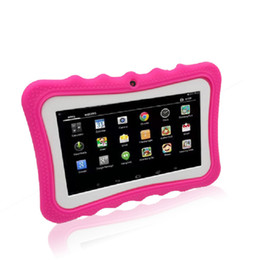 Q768 планшет для детей 7.0 дюймов Android 6.0 1024x600 512 МБ + 8 ГБ multi язык multi touch поддержка календарь будильник планшет