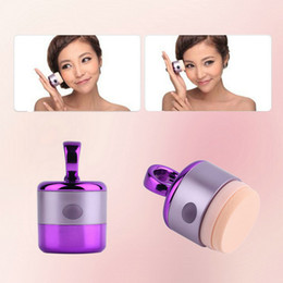 Wholesale Pro D Electric Smart Vibrator Puff Sponge Beauty Makeup SPA Tool Face Powder Foundation Special Top Quality The Best Choice Pop