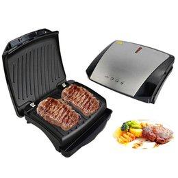 Bbq Bbq Steak Hamburger Electric Grill Meat Roaster Machine Egg Frying Pan Mini Sandwich Maker Bread Oven Breakfast Barbecue Tools