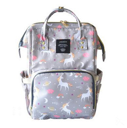 $enCountryForm.capitalKeyWord Canada - Unicorn Travel Backpacks Large Capacity Nappies Bags Mother Maternity Diaper Backpack Outdoor Travel Bags Organizer 18 Colors