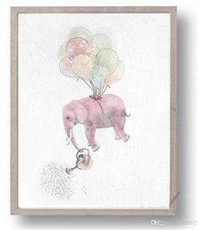 pictures elephants painted canvas 2019 - Abstract Elephant Home Wall Art Painting High Definition Family Decor Spray Paintings Printing Wall Pictures Poster No F