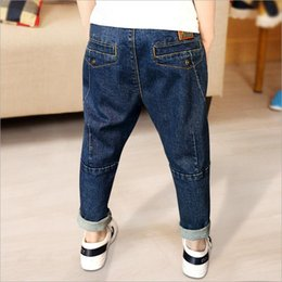 91b18f446fe7 Boys jeans Children spring autumn leisure harem pants kids baby fashion  trousers 2018 New Child Clothes
