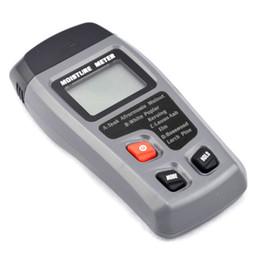 Medidor de humedad de madera digital de dos pines 0-99.9% Probador de humedad de madera Detector de humedad de madera con pantalla LCD grande en venta