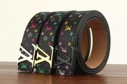 6fa8070021 Cinturón de cuero con vestido reversible para hombres