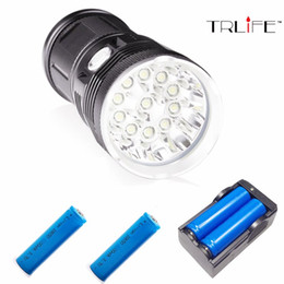 led caving lamp Australia - 42000 lumens Flashlight 14*T6 LED DT70 Outdoor lighting waterproof floodlight,torch,lantern,camping light, lamp, Hunting
