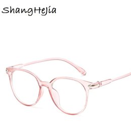 54af644cb0334 Round Black Spectacles Canada - Transparent Fashion Women Glasses Frame Men Eyeglasses  Frame Vintage Round Glasses