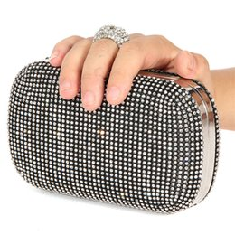 $enCountryForm.capitalKeyWord Canada - 2017 Vintage Women Evening Bags with Diamonds Polyester handbags LADY party Wedding Clutch Bags Shoulder Coin Purse Wallets