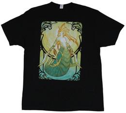 $enCountryForm.capitalKeyWord NZ - DOTA 2 Mens T-Shirt - Song of the Siren Art Noveau Style Image Tees Brand Clothing Funny T-Shirt
