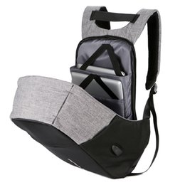 4d8a6e429de7 Компьютер ноутбук USB зарядки рюкзак мешок школы пакет взрослый студент  сумка бизнес рюкзак мужской унисекс водонепроницаемый путешествия рюкзак