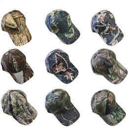 4ca68f89af1a88 9 Colors Camouflage Baseball Caps Army Camo Cap Tactical Baseball  Adjustable Casquette Camouflage Military Hats Outdoor Hats CCA10028 50pcs