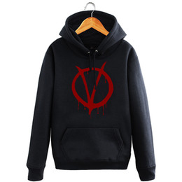 $enCountryForm.capitalKeyWord UK - Winter Men Hoodie Fleece Cotton Print V For Vendetta Moives Hoodie Sweatshirt S XXL Black Full Sleeve Printed O-neck Pullover Gifts Hoodie
