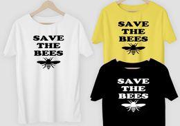 $enCountryForm.capitalKeyWord Australia - 2018 Fashion T-Shirt Tee top tee Save the Bees T-shirt or DIY vinyl Endangered, Environment free post