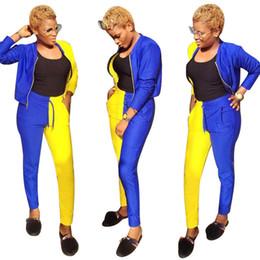 46b1f608f7a RompeR styles women online shopping - European style sexy pieces romper  women jumpsuit color block autumn