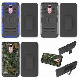 rugged belt clip 2019 - For Moto E5 Play Camouflage Army Shockproof Case For LG Stylo 4 Stylo4 With Belt Clip 3in1 Rugged Hybrid Hard PC+TPU Arm
