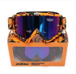 M Sunglasses Brands Canada - KTM brand Motocross goggles ATV DH MTB Dirt Bike Glasses Oculos Antiparras Gafas motocross Sunglasses Use For Motorcycle Helmet