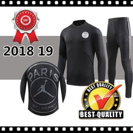 Wholesale TOP quality PSG Jordam tracksuit new Paris MBAPPE soccer Training suit ADULT tracksuits MBAPPE LUCAS ADULT training suit