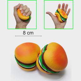 $enCountryForm.capitalKeyWord Canada - Heart shaped squishy Hamburg simulation food foamed bread cake 8cm slow rebound resin craft squishies Decompression Toys