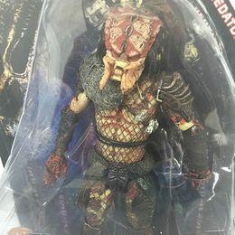 $enCountryForm.capitalKeyWord NZ - NECA AVP Aliens vs. Predator Series Shaman Lost Scout Stalker   Movie Serpent Hunter Action Figure Toy 18cm