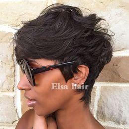 $enCountryForm.capitalKeyWord Australia - Short Brazilian Bob Cut Wigs Glueless Wigs Human Hair Bob Full Lace Wig For Black Women Full Culticle Short Bob None Lace Wigs Free Shipping