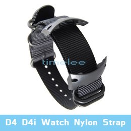Para Suunto D4 D4i Dive Computer Assista Nylon Strap + ABS Adaptadores + Screwbars on Sale