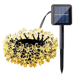 Holiday Solar Light Australia - Solar String Lights LED Waterproof Garland Outdoor LED Fairy Lights String 7M 50 LEDs Garden Xmas Holiday Festivals Decorations
