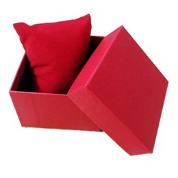 $enCountryForm.capitalKeyWord UK - Watch Boxes Jewellry Gift Box Paper Cardboard With Pillow Storage Case Box Colors