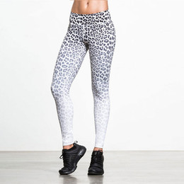 Leopard Print Yoga Pants Canada - exy Women Yoga Pants Fitness Leggins Leopard Print Compression Leggings Tracksuit Quick Dry Skinny Gym Running Tights