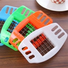 French Fries slicer online shopping - Originality Potato Cutters French Fries Maker Vegetable Melon And Fruit Cutter Strip Slicer Stainless Steel Kitchen Cooking Tools nh gg