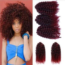 $enCountryForm.capitalKeyWord NZ - 3pcs set 8Inch crochet Mali Bob Hair Extensions natural Kinky Curly Synthetic Braid colored T1B BUG BLOND #613 Twist crochet Hair Extensions