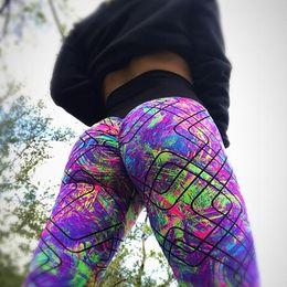 $enCountryForm.capitalKeyWord Canada - Sport Leggings High Waist Pants Gym Clothes Sexy Running Print Yoga Tights Women Fitness Yoga Pants For Women