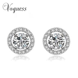 f6f1596b7 VOGUESS Hot Sell Stud Earrings Best Gift For Girlfriend Fashion Women Ear  Studs Party Wedding Crystal Jewelry