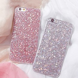 $enCountryForm.capitalKeyWord Australia - Luxury Shinning Glitter Cover For iphone 7 7 Plus 6 6S Plus SE 5 5S Soft Love Heart Phone Capa Fundas for iPhone7 case