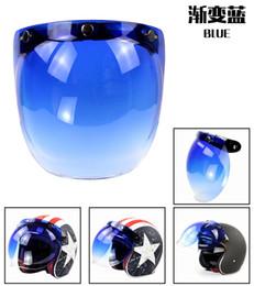 $enCountryForm.capitalKeyWord NZ - Anti-UV Motorcycle Helmet Visor Shield Flip Up Bubble Visor For Open Face Helmet Retro Style Casco Glasses Harley Moto Lens BV02