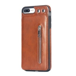 Iphone Flip Up Australia - One piece Luxury Flip Vertical Cover Bag Flip Up and Down PU Leather Case for IPhone XS MAX XR 6 7 8 Plus with Card Slot TPU Case Cover