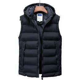 Wholesale mens green vest jacket resale online - Vest Men New Stylish Autumn Winter Warm Sleeveless Jacket Army Waistcoat Men s Vest Fashion Casual Coats Mens Thick