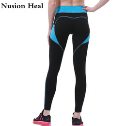 8bd0a02ce0f41 Wholesale Running Leggings NZ - Women Elastic Yoga Sports Pants Compression  Running Tight Speed Pants High