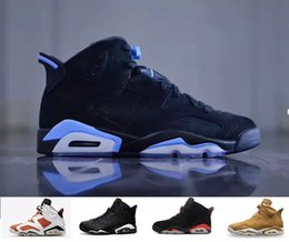aecbe2d40ece35 Best 6 6s men women Basketball shoes unc black cat Hare Carmine White  Infrared Angry bull sport blue Oreo Olympic Maroon Chrome sneakers