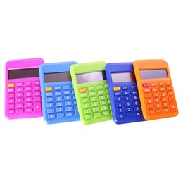 $enCountryForm.capitalKeyWord UK - NOYOKERE New Arrival Student Mini Electronic Calculator Candy Color Calculating Office Supplies Gift 9*6mm Size Random Color