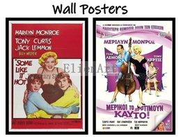 pink decorative paintings Australia - Some Like It Hot Movie Home Decorative Painting White Kraft Paper Poster 42X30cm