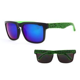 Black Blocks Australia - Sunglasses KEN BLOCK Men's and Women Brand Designer Sun glasses Reflective Coating Square Spied For Men Rectangle Eyewear gafas